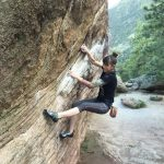 Karen Climbing
