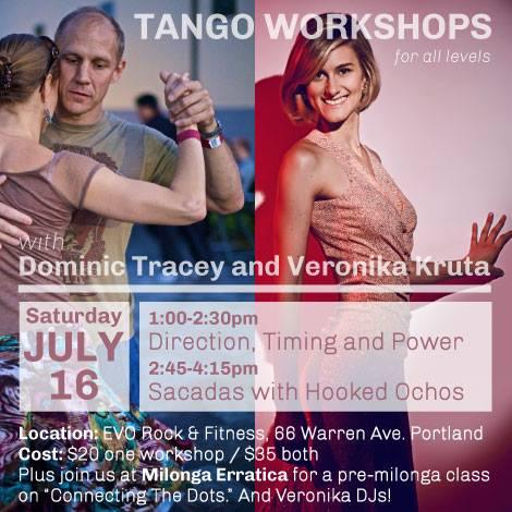 Dominic Tracey Talks Tango