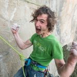 Adam Ondra on his Dawn Wall Push. Crux and Up. Adam sent the crux!