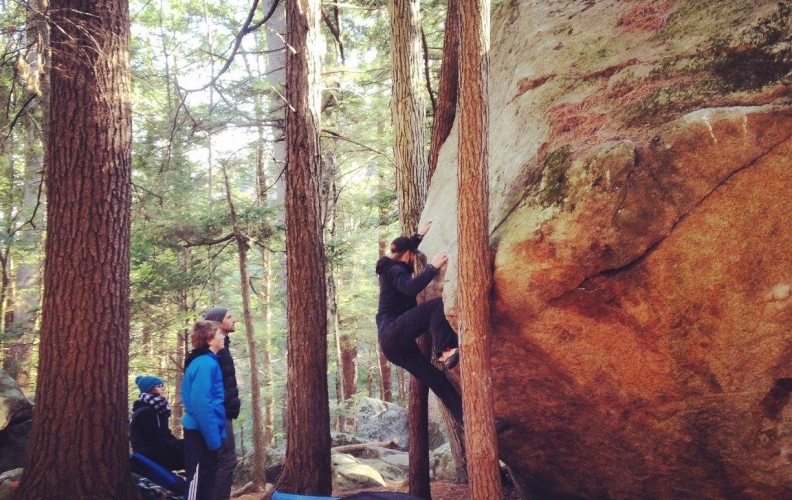 3 Places to boulder near EVO Portland!