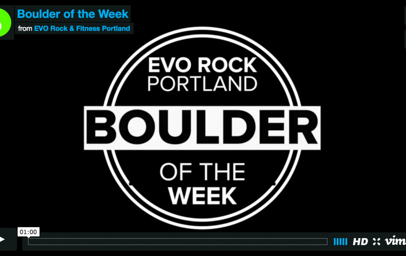 Boulder of the Week 8-9-16