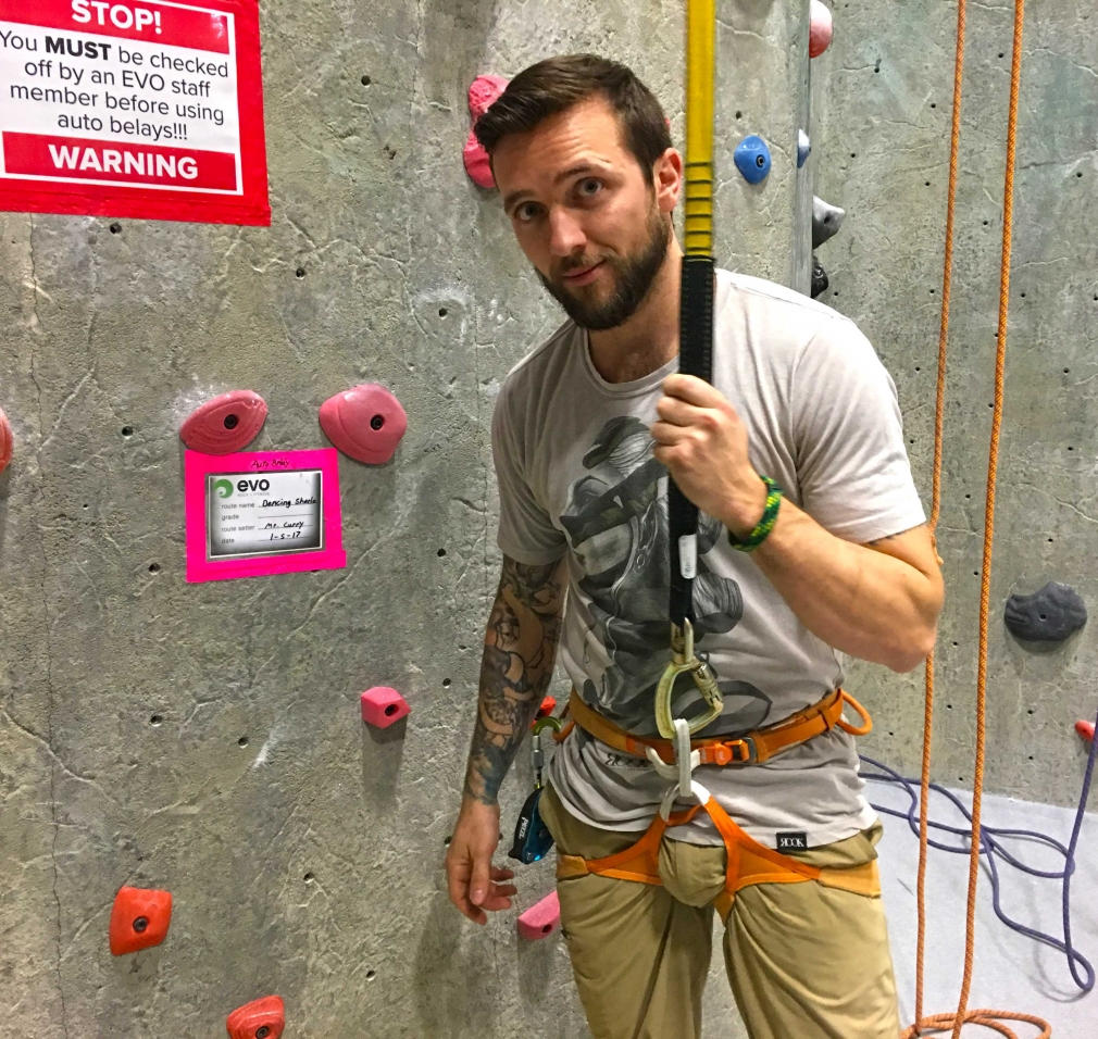 Auto-Belay all day!