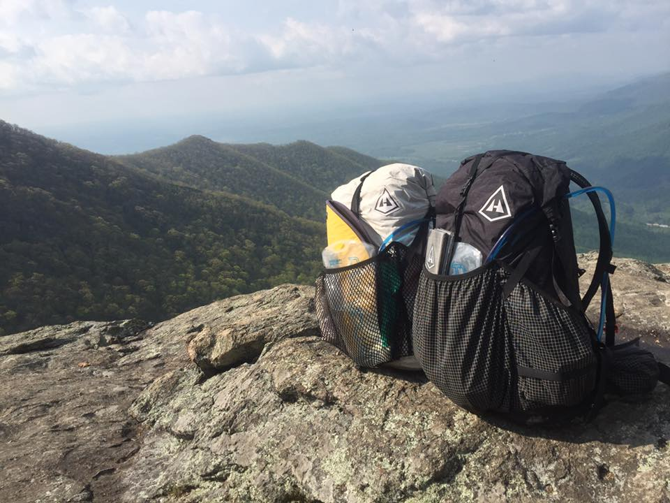 Hyperlite pack for AT thru-hike