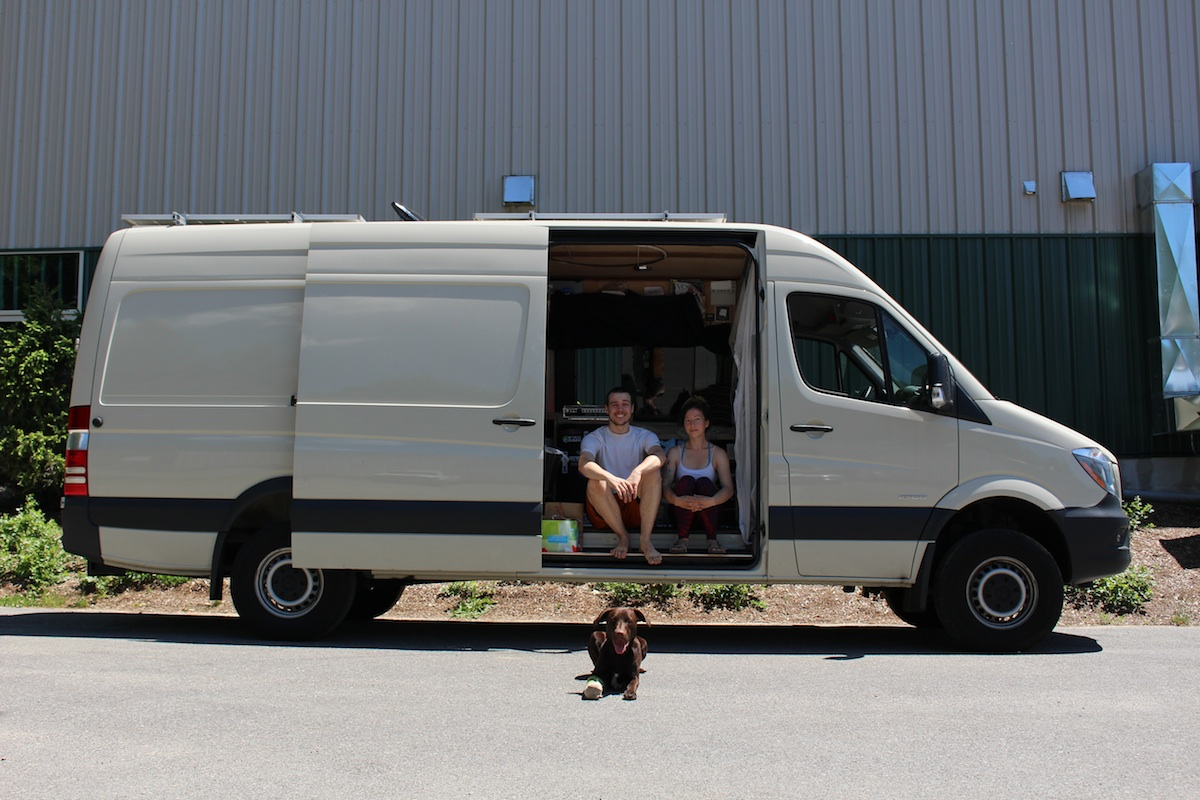Van Life at EVO Rock + Fitness