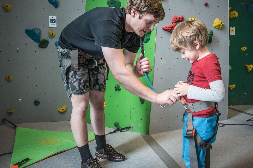 Tips for climbing inside with kids