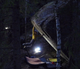 Nalle Hukkataival and the Lappnor Project (V17?)