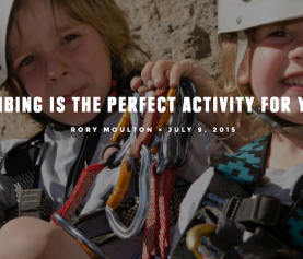 7 Reasons Why Your Kid Should Climb